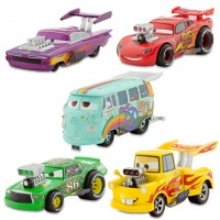 "Набор машин 5шт ""Cars Deluxe Die Cast Hot Rod Set"""
